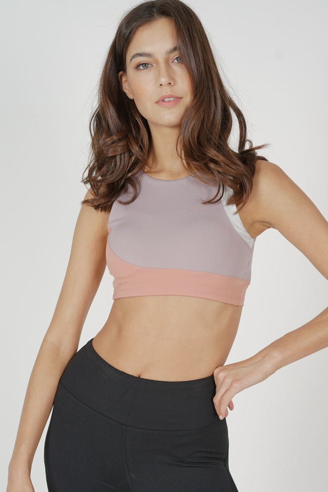 Unhi Contrast Top in Pink - Arriving Soon
