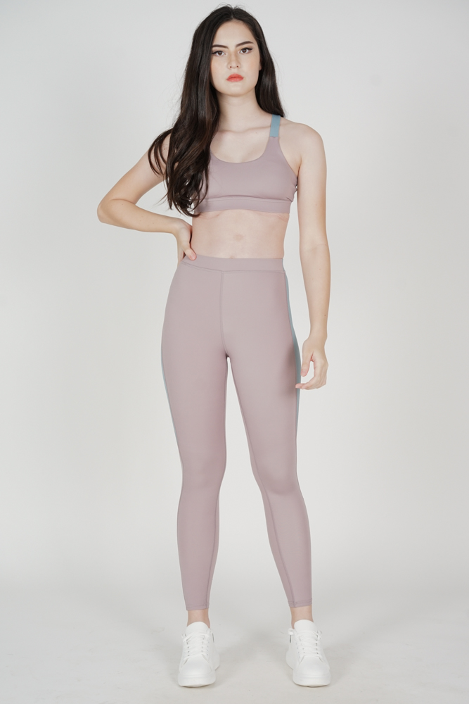Mabley Contrast Top in Lilac - Arriving Soon
