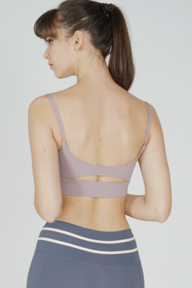 Sisca Padded Top in Dusty Pink - Arriving Soon