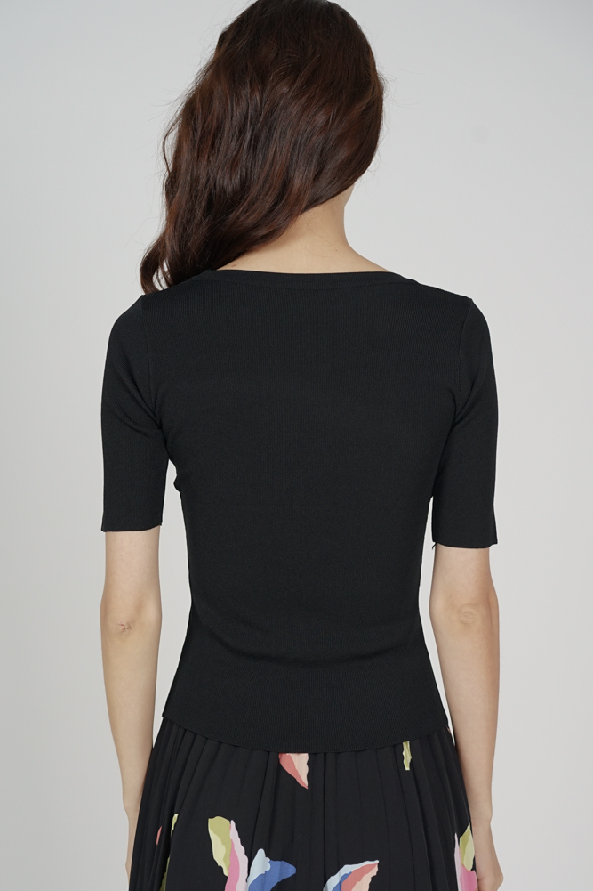 Micki Top in Black - Arriving Soon