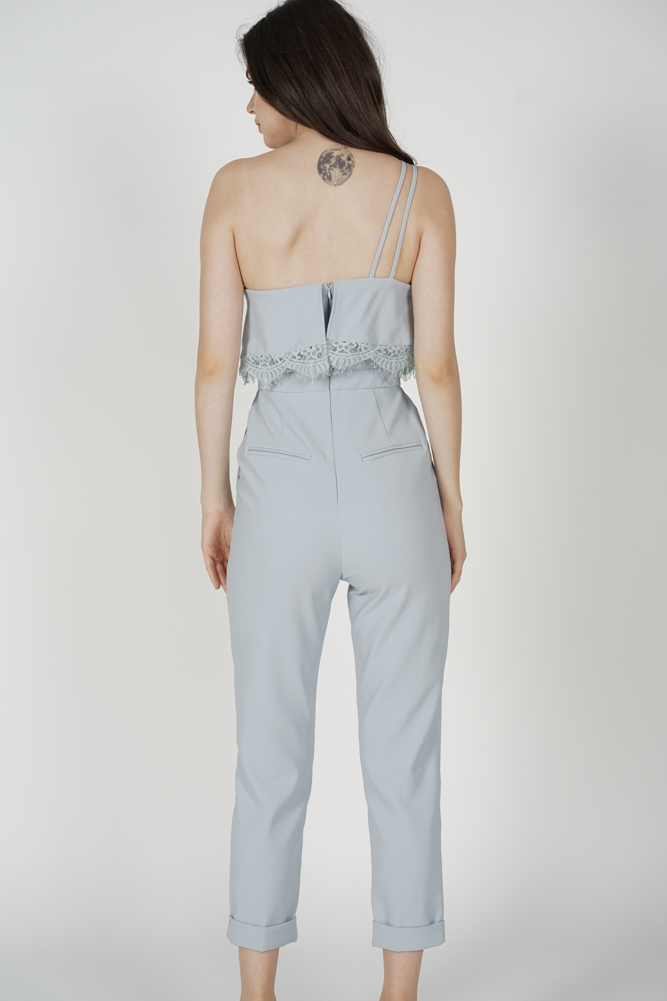 Azora Toga Jumpsuit in Ash Blue - Arriving Soon