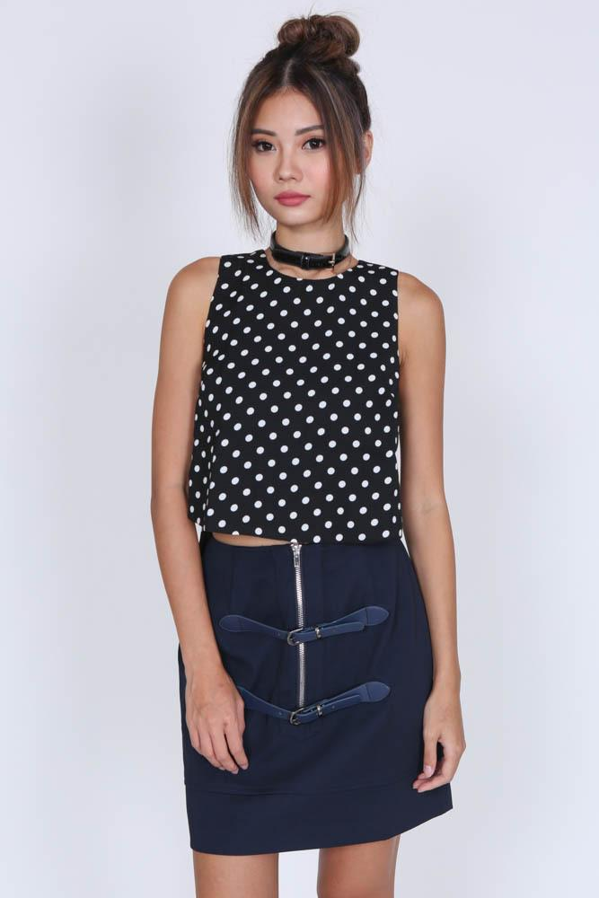 Melxina Skirt in Navy