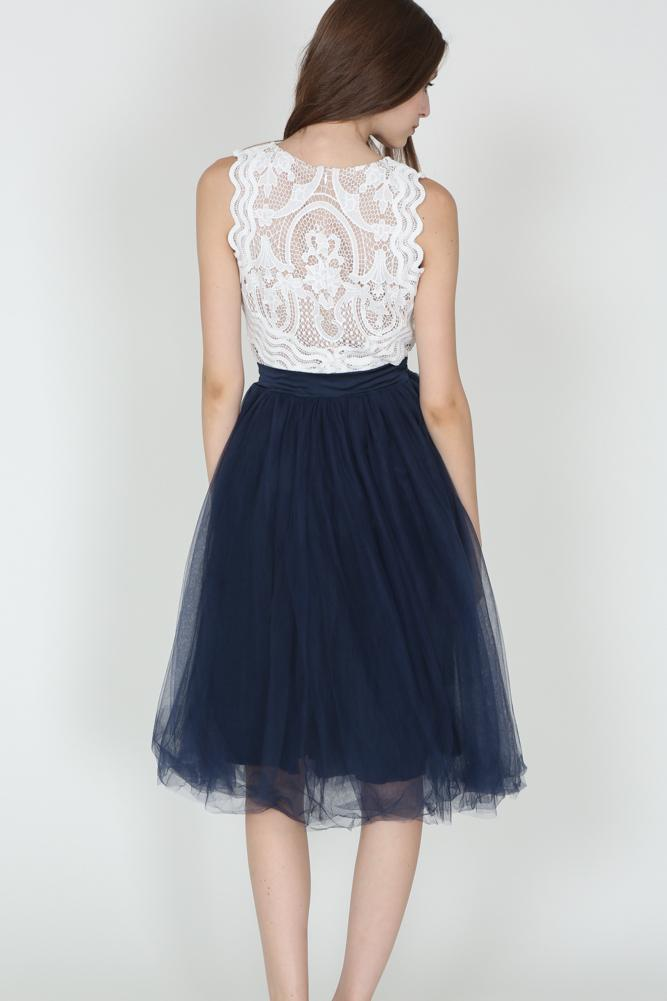 Tulle Skirt in Midnight