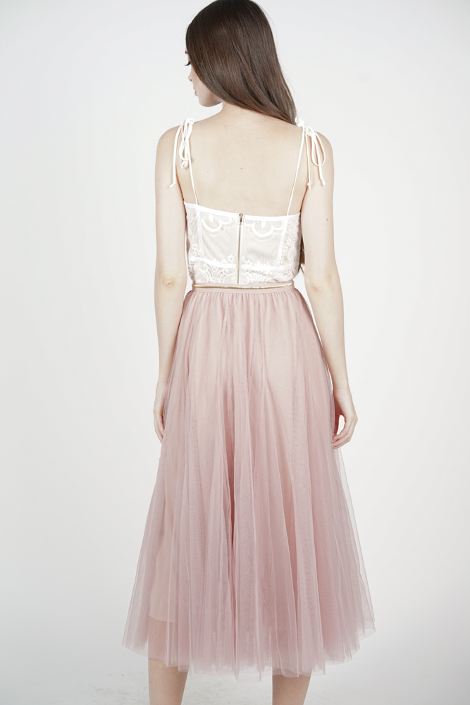 Malini Tulle Skirt in Pink - Arriving Soon