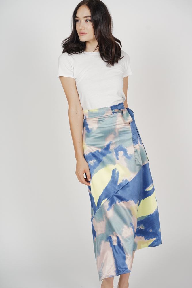 Adamia Abstract Skirt in Multi - Arriving Soon