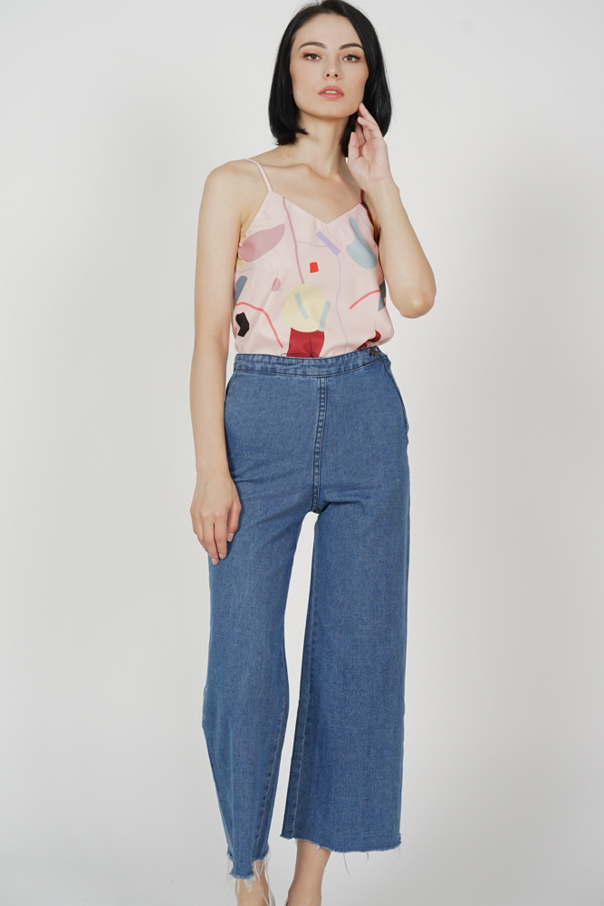 Allem High Waist Jeans in Blue - Online Exclusive