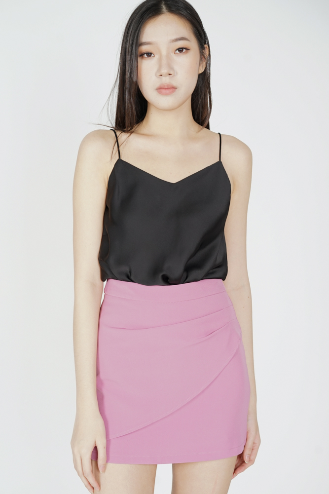 Baki Mini Skirt in Purple - Online Exclusive