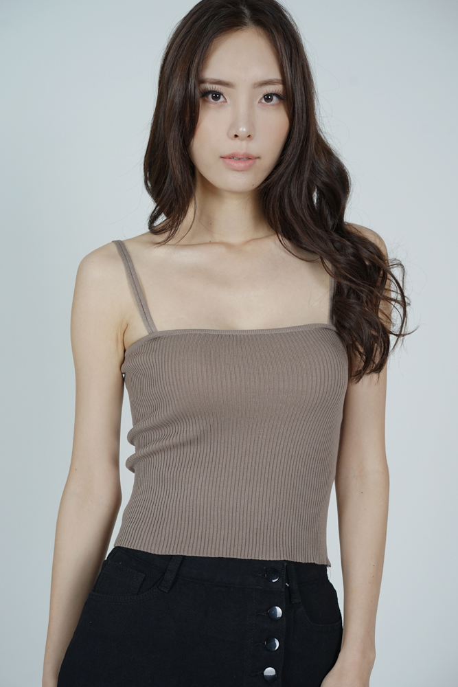 Laney Cami Top in Cocoa - Arriving Soon