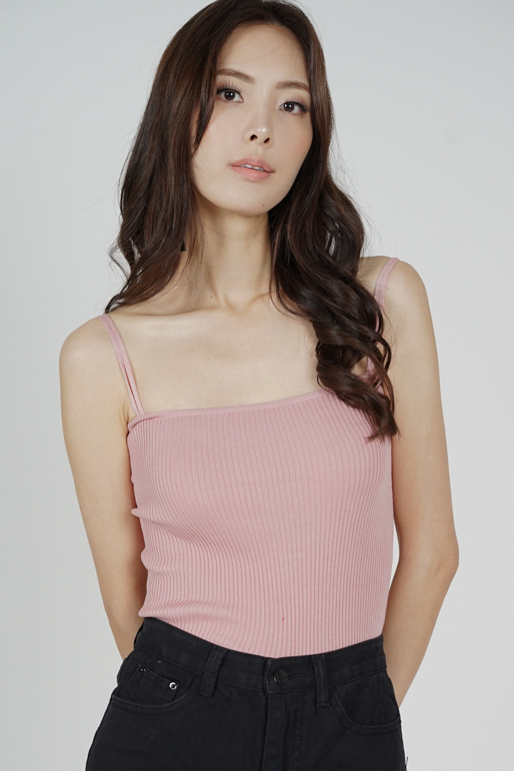 Laney Cami Top in Pink - Arriving Soon