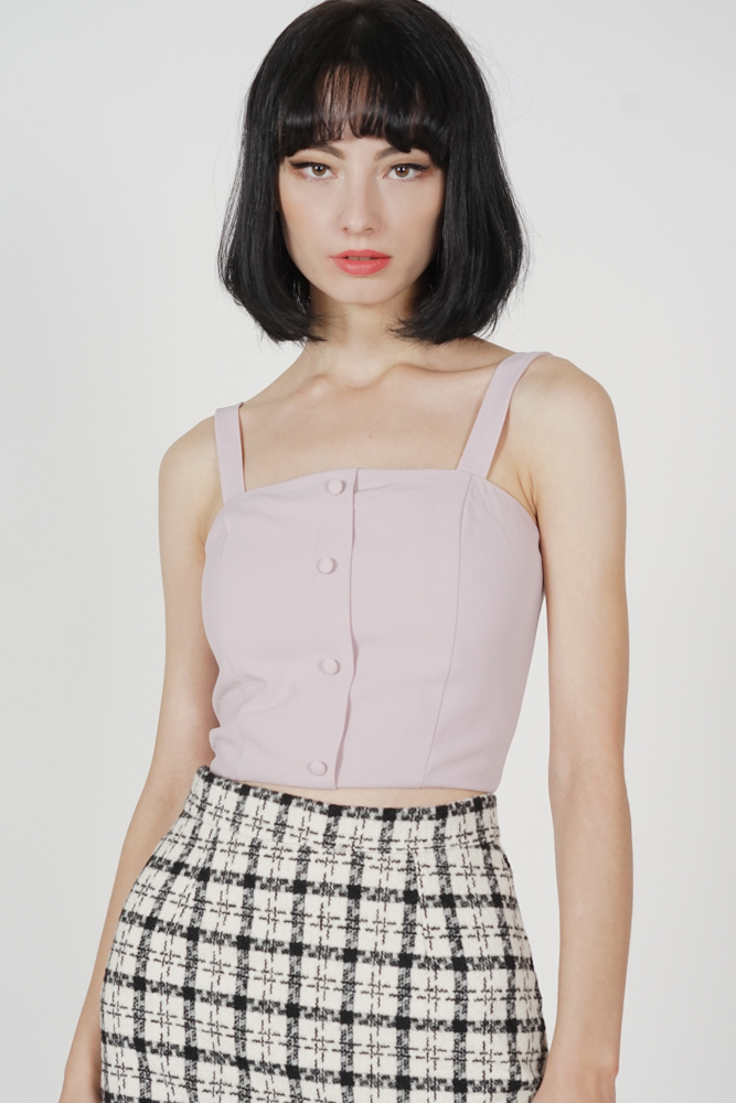 Kadrien Cropped Top in Blush