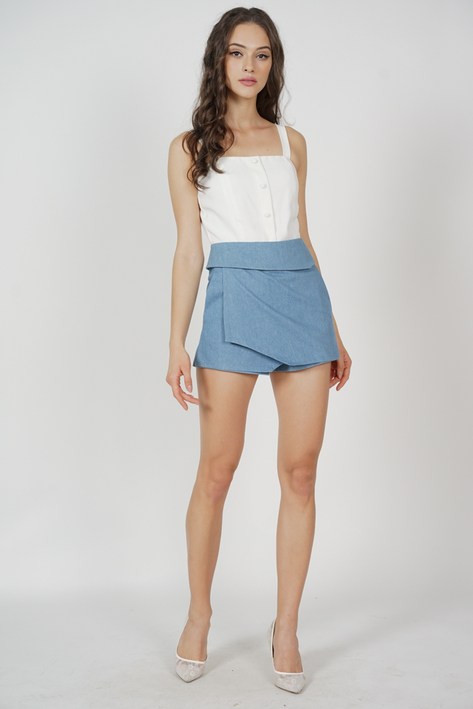 Kadrien Cropped Top in White