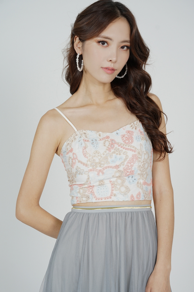 Paige Cami Top in Pastel