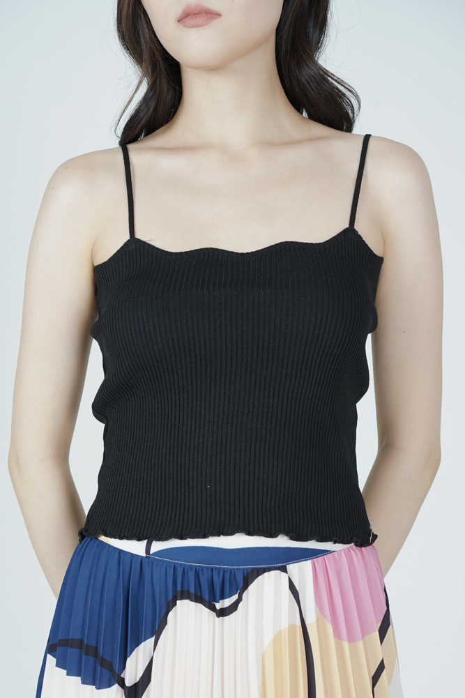 Lorain Cami Top in Black - Online Exclusive