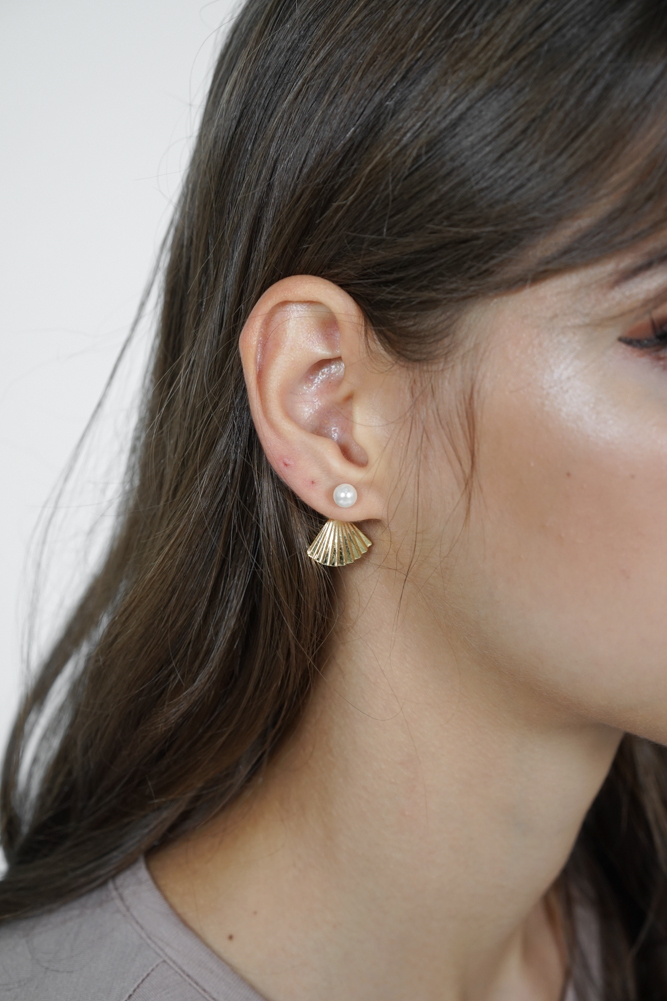 Calista Fan Earrings - Arriving Soon