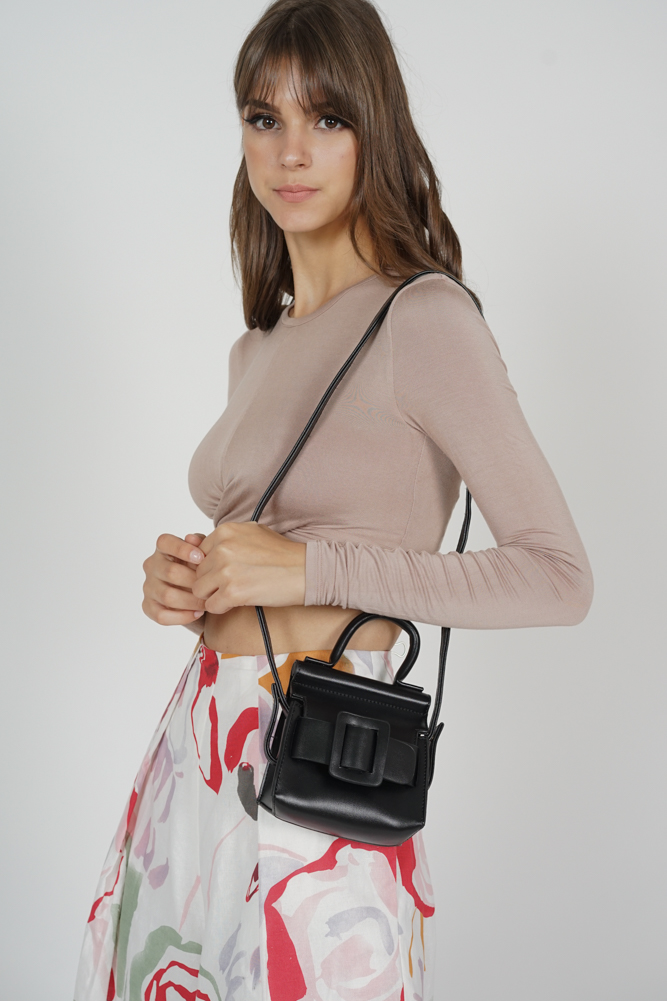 Celia Mini Tote in Black - Arriving Soon