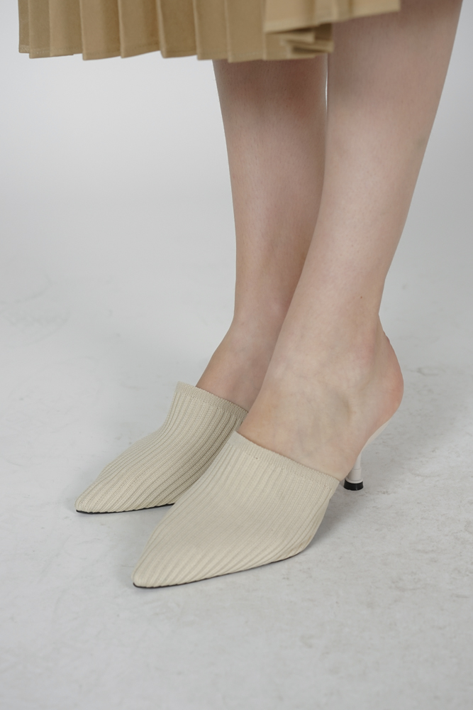 Monica Mules in Cream - Arriving Soon