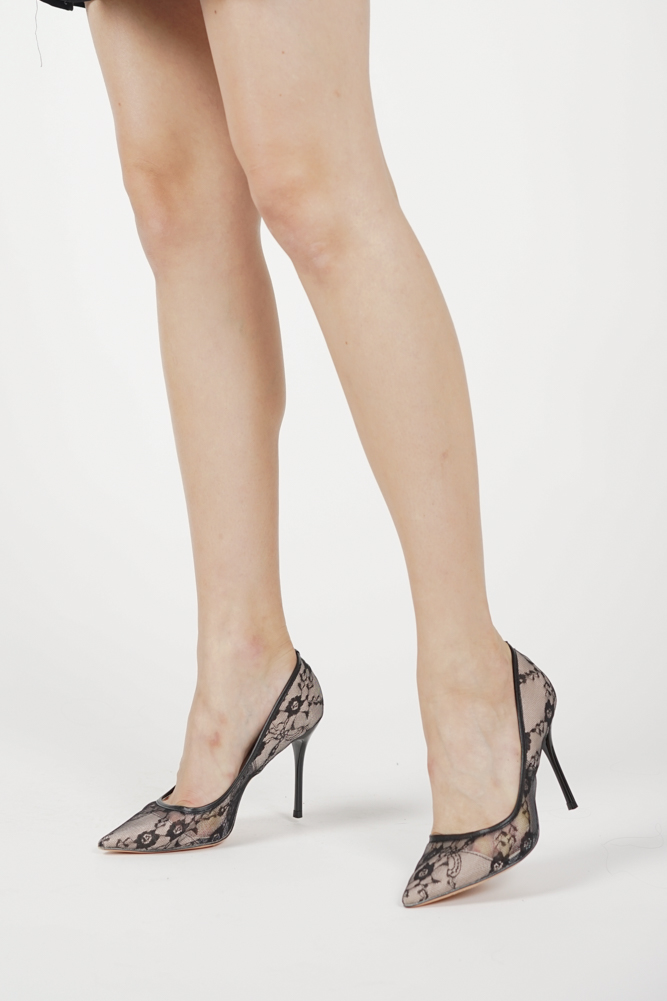 Layla Heels in Black - Arriving Soon
