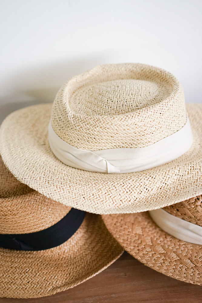 Quylla Straw Hat in Cream - Arriving Soon