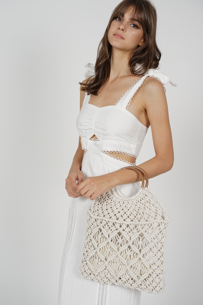 Sunday Crochet Bag in Ivory - Arriving Soon