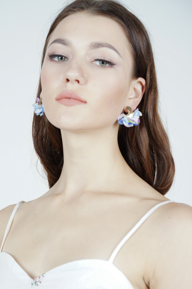 Flutter Earrings in Blue  - Arriving Soon