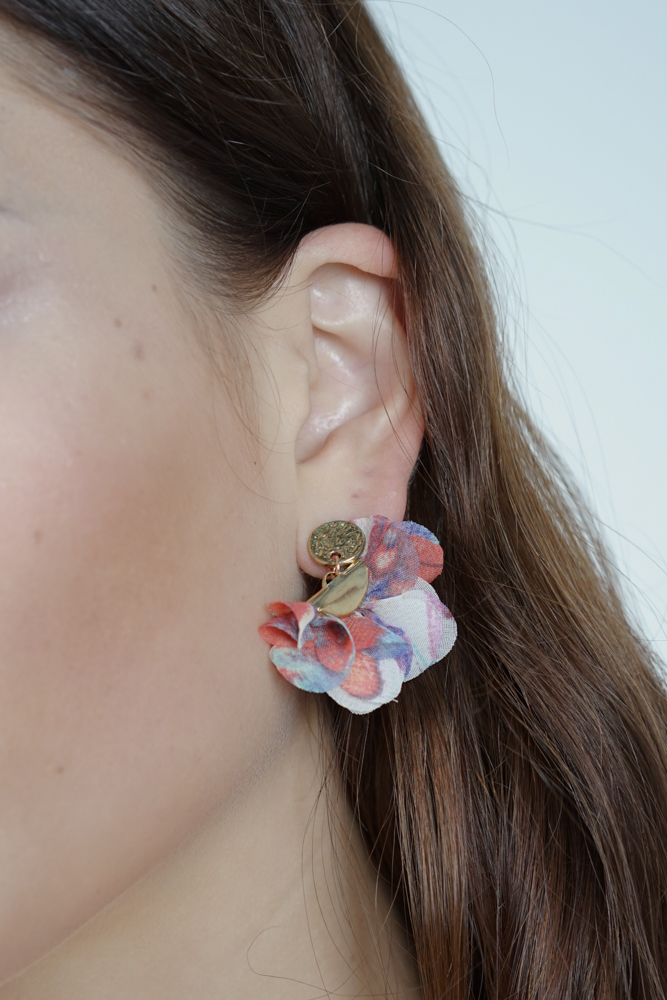 Flutter Earrings in Blush  - Arriving Soon