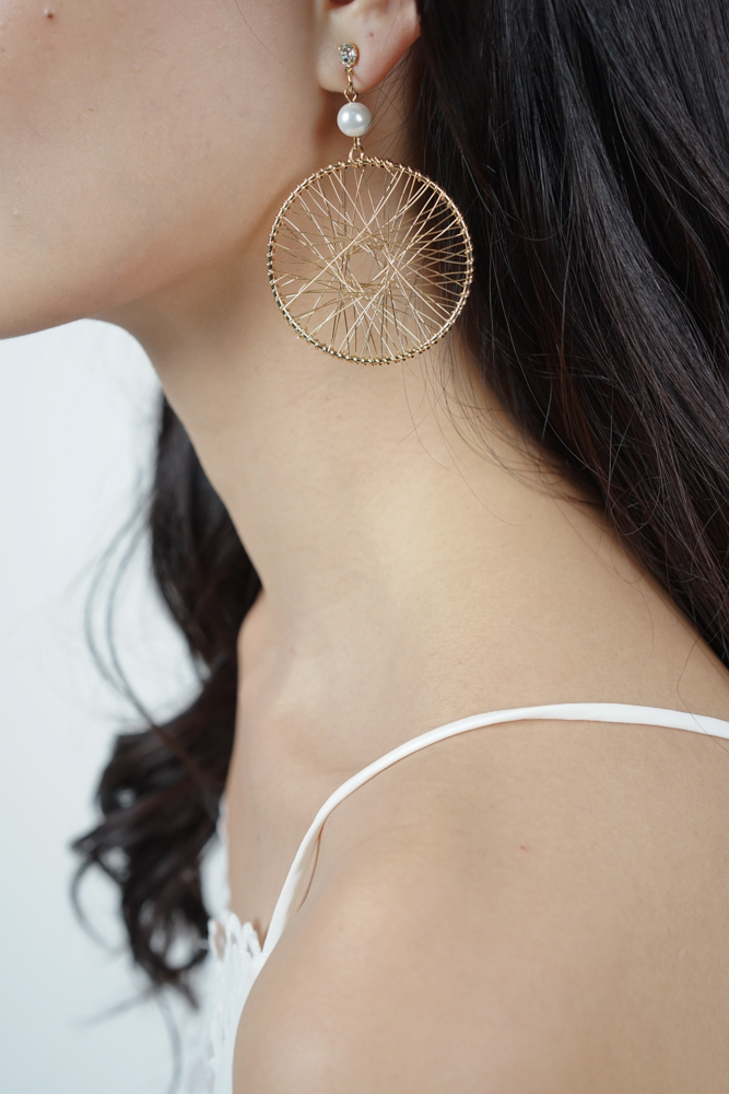 Dreamcatcher Earrings in Gold - Arriving Soon