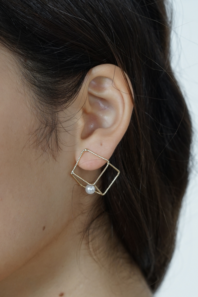 Cuboid Minimalist Earrings - Arriving Soon