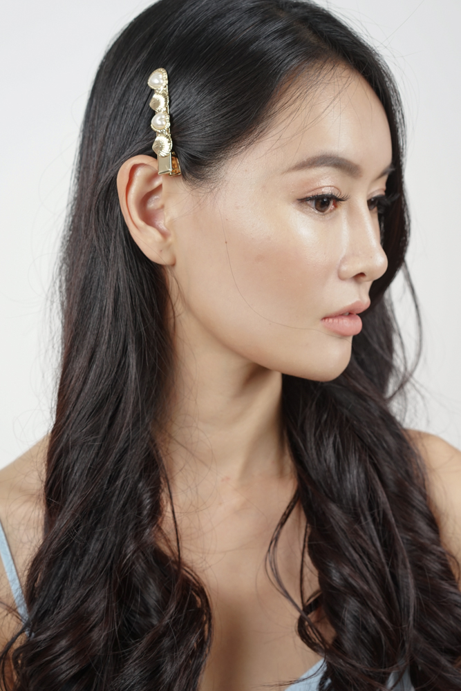 Arielle Hairclip in Gold - Arriving Soon