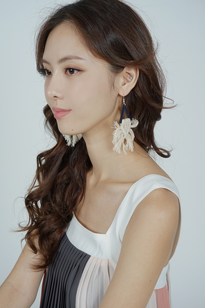Galatia Earrings in Ivory - Arriving Soon