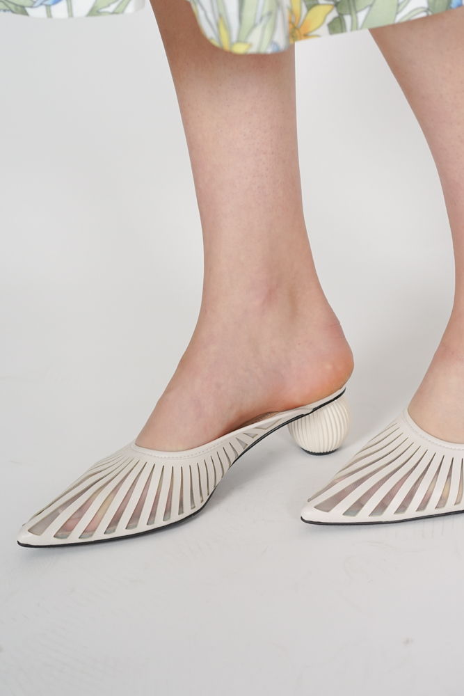 Helios Mules in Ivory - Arriving Soon