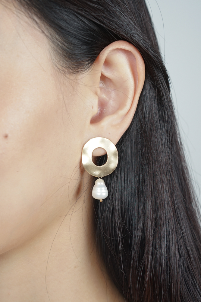 Reina Circle Earrings  - Arriving Soon