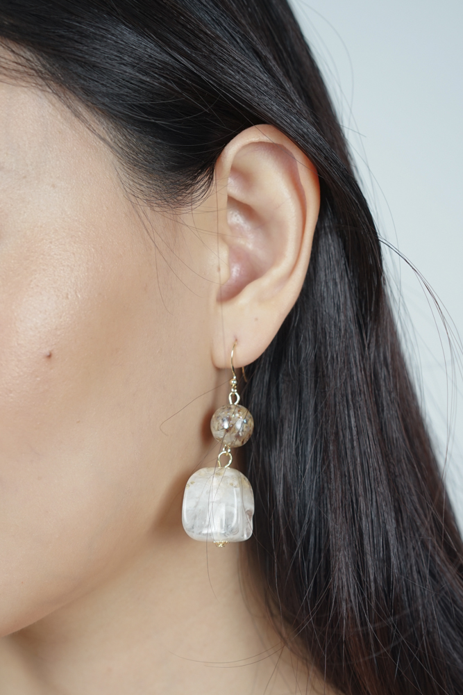 Reina Cuboid Earrings  - Arriving Soon