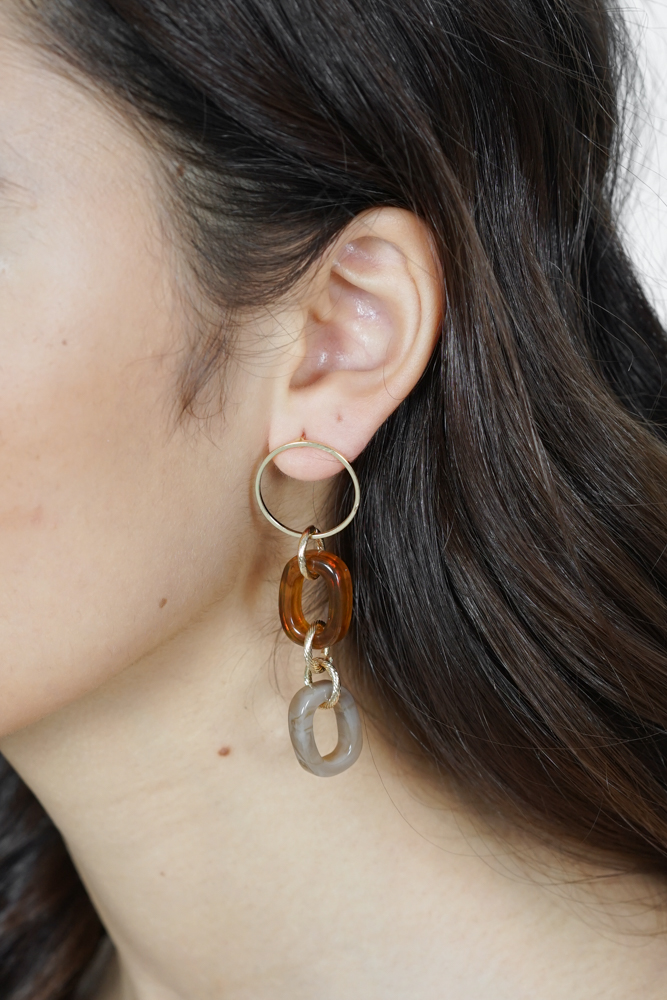 Lenka Earrings in Rust - Arriving Soon