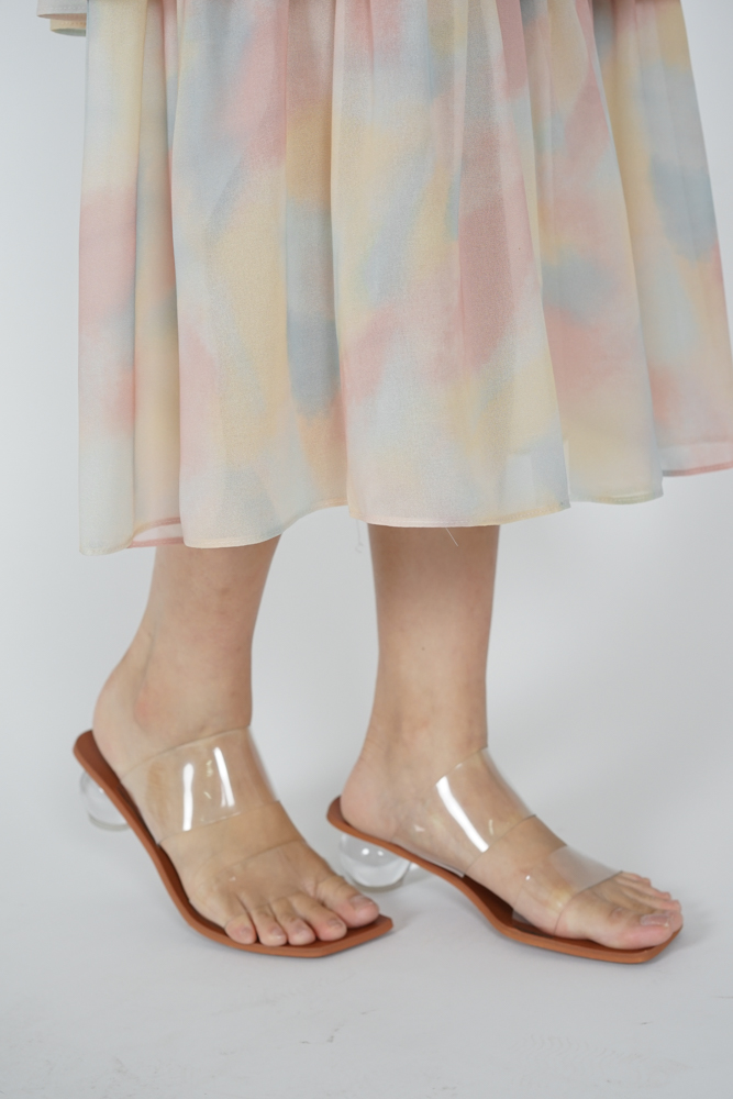 Regina Sphere-Heeled Mules - Arriving Soon