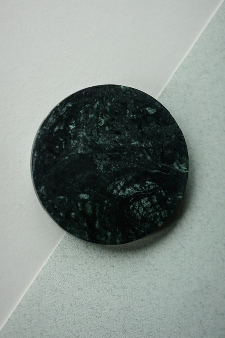 Round Board in Green Marble - Arriving Soon
