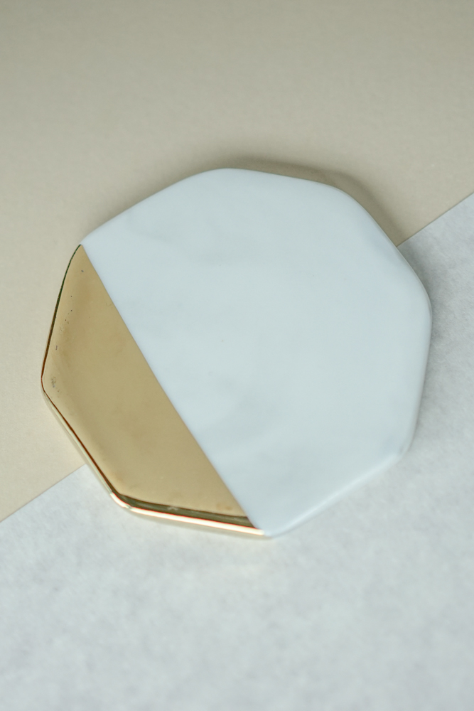 Octagonal Board with Gold Coloured Side - Arriving Soon