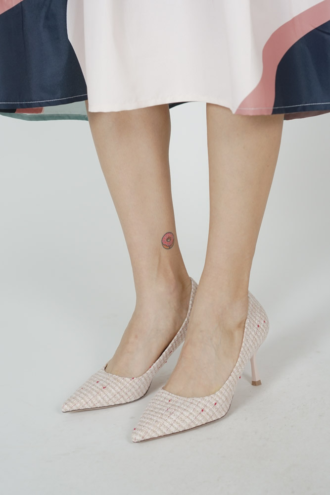 Carlson Heels in Pink - Arriving Soon