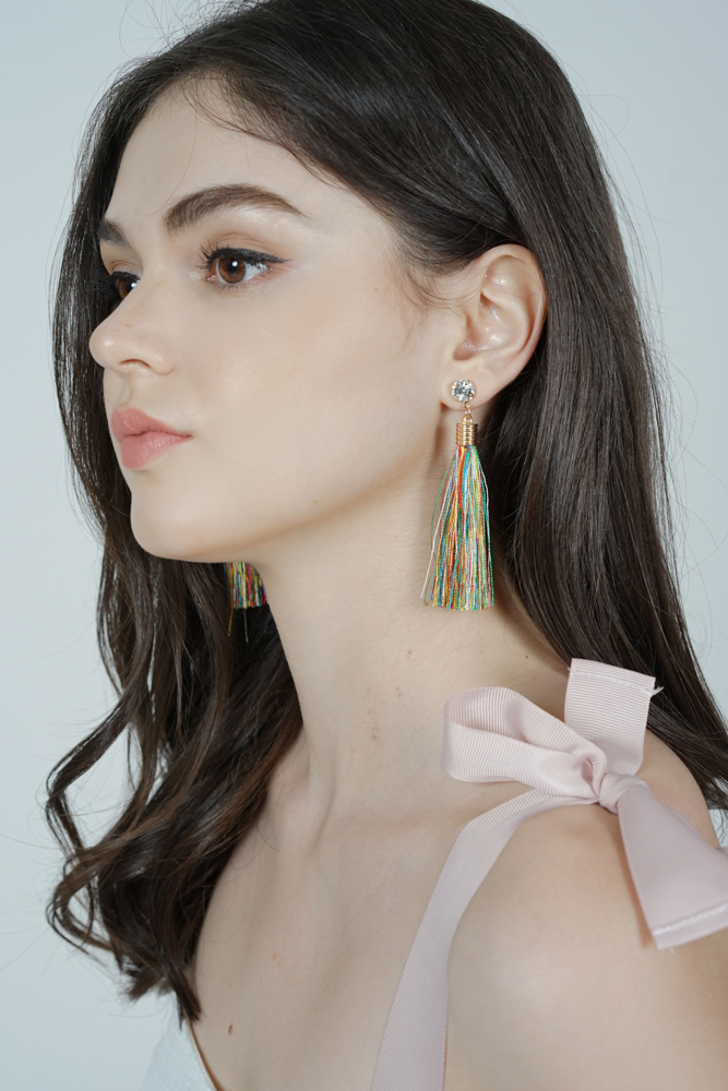 Camille Duster Earrings in Multi -  Arriving Soon