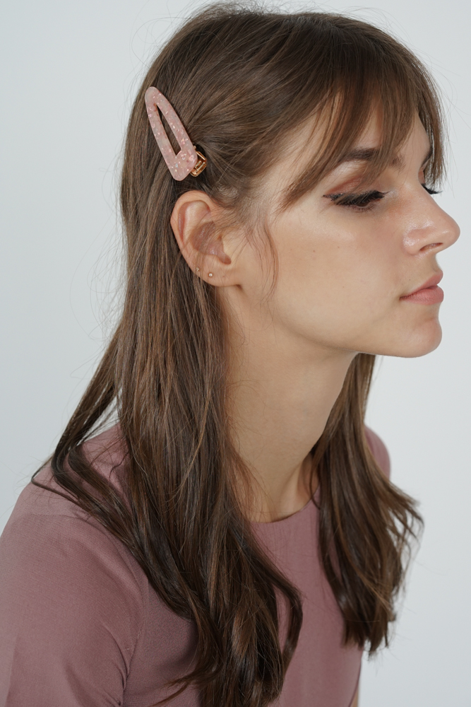 Junie Hair Slide in Pink- Arriving Soon