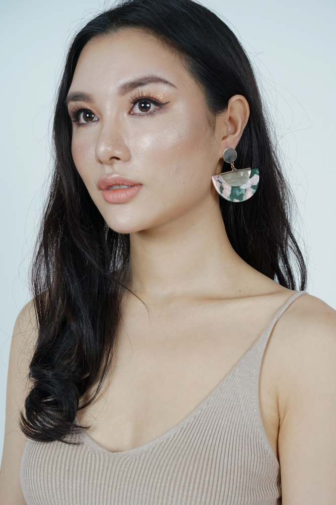 Arc Earrings in Jade  - Arriving Soon
