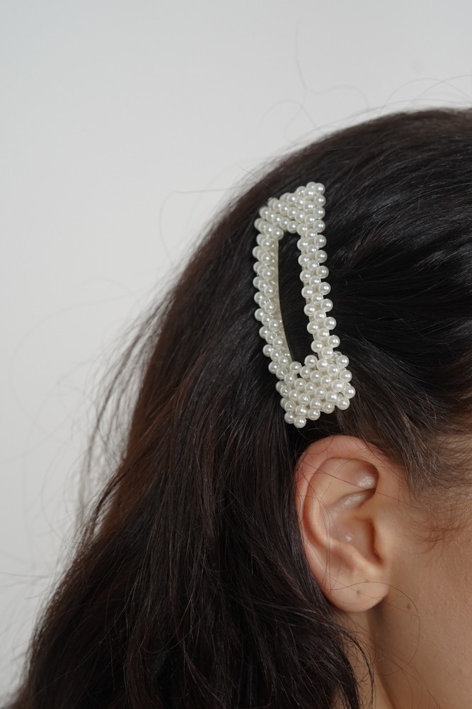 Nixie Pearl Hair Slide - Arriving Soon