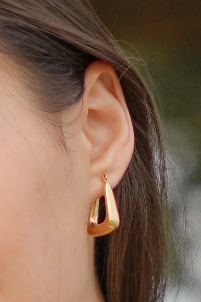 Ulka Earrings in Gold - Arriving Soon