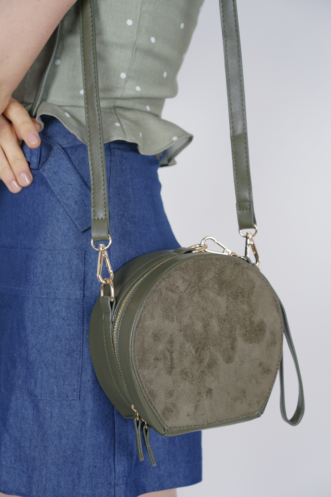 Medallion Bag in Pine Green - Arriving Soon
