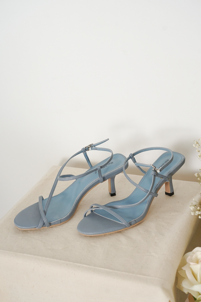 Myka Heels in Dusty Blue - Arriving Soon