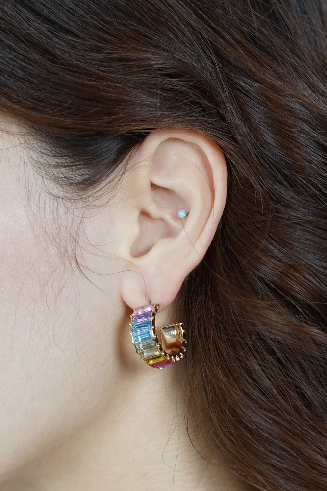 Andri Earrings in Rainbow - Arriving Soon