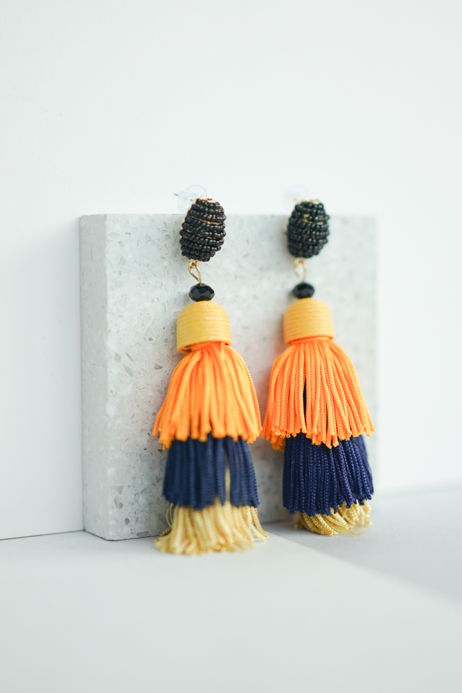 Tiered Tassel Earrings - Arriving Soon
