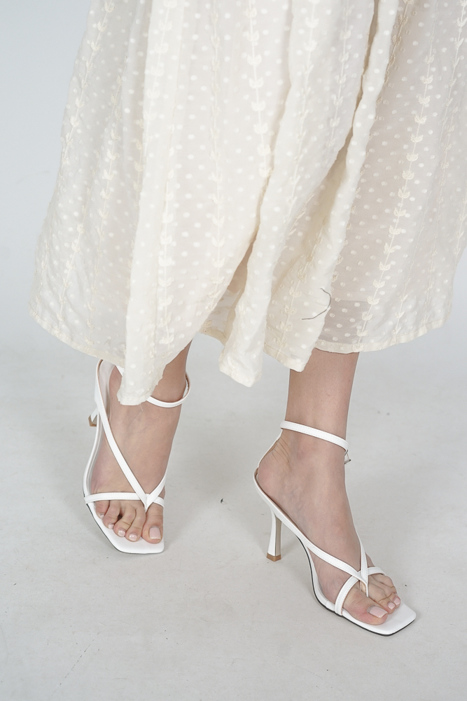 Callen Heels in White - Arriving Soon