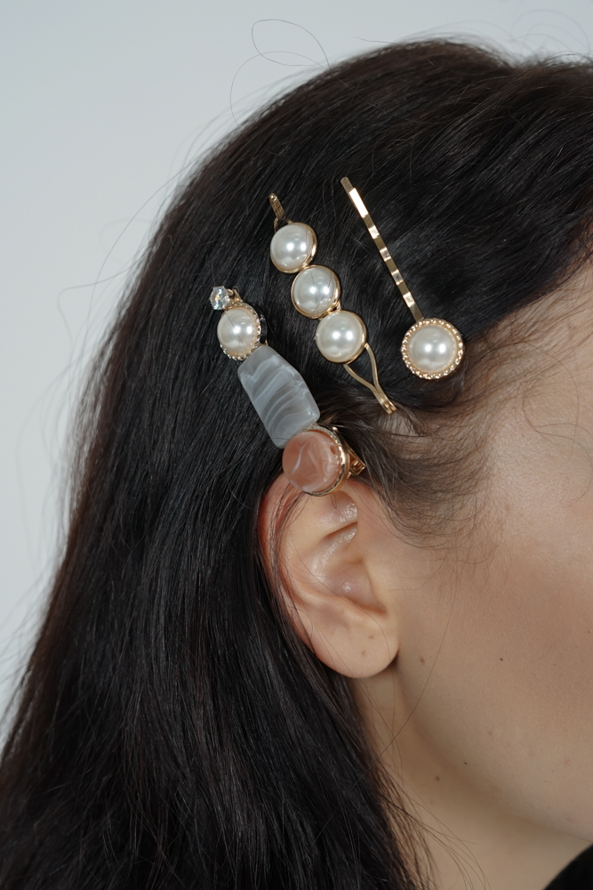 Prinsa Hair Jewellery Set - Arriving Soon