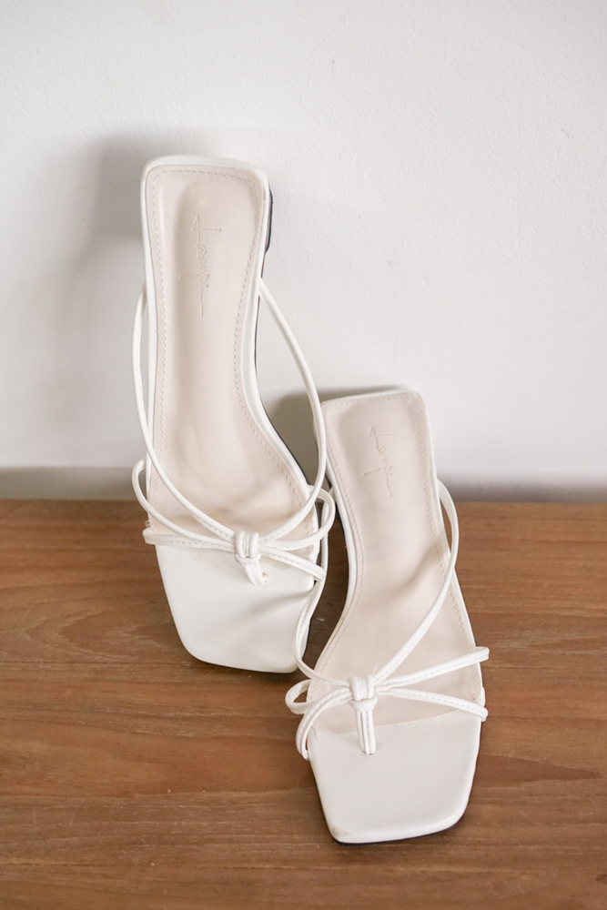 Grayce Mules in White - Arriving Soon