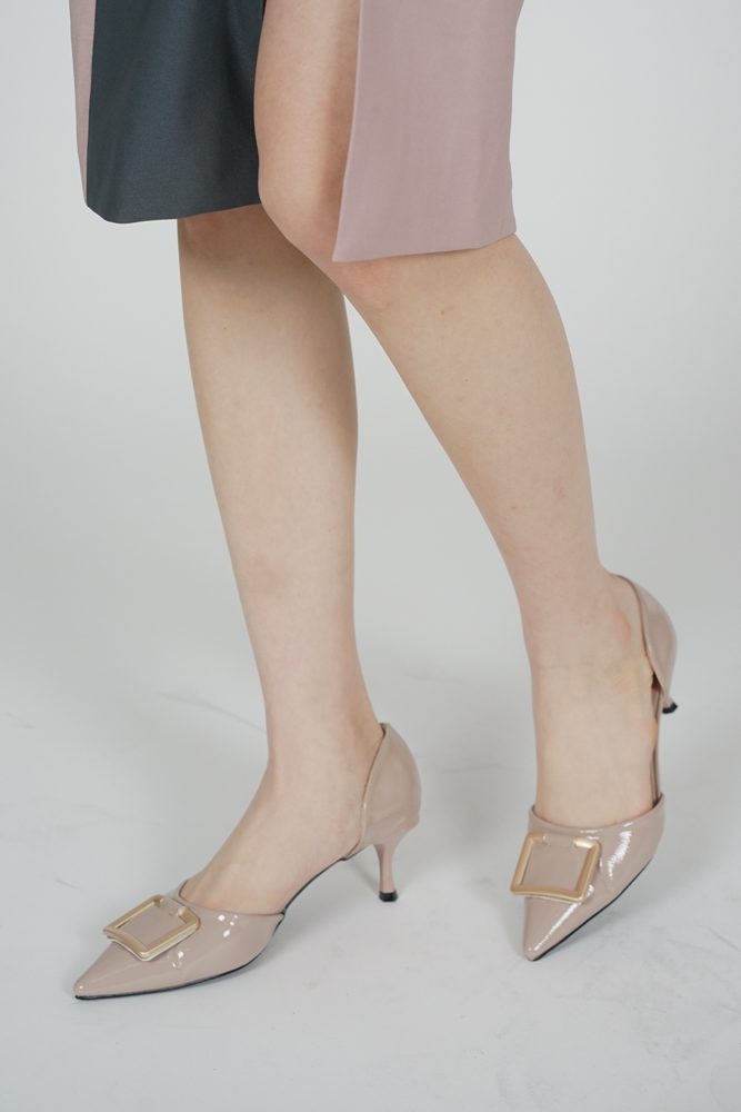 Jeyn Pointed Heels in Nude Pink - Arriving Soon